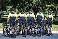 Elk Grove police at the start of Stage 3 (34753263452).jpg