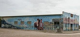 Elliston, South Australia - Hall Mural