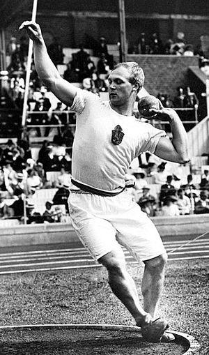 Elmer Niklander - Elmer Niklander at the 1912 Olympics