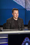 Elon Musk at the SpaceX CRS-8 post-launch press conference (25711174644).jpg