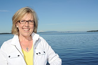Green Party of Canada - Elizabeth May, July 2014