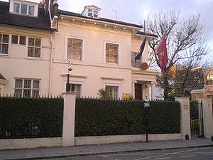 Embassy of Vietnam, London - Image: Embassy of Vietnam in London 1