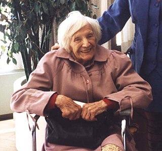 Emilie Schindler wife of Oskar Schindler (1907–2001)