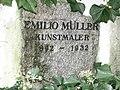 Emilio Müller (1892–1932) Kunstmaler, Friedhof Sissach.jpg