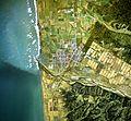 Enbetsu town center area Aerial photograph.1977.jpg