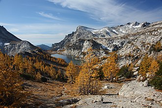 The Enchantments - Enchantment Basin from Prusik Pass