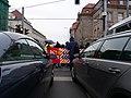 Ende Gelände blockade of the Invalidenstraße next to the Invalidenpark 08.jpg