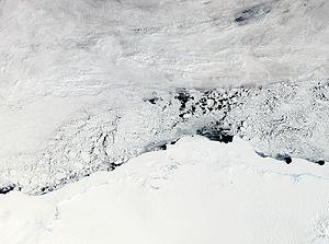 Enderby Land - Enderby Land, Antarctica. NASA MODIS image, 2011.
