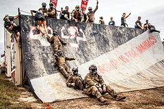 Operation Enduring Warriors Rugged Maniac Virginia 2016