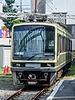 Enoden 2001 close to Enoshima Station 130809 7.jpg