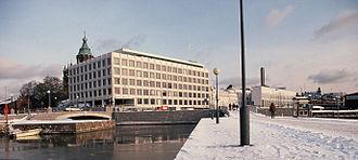 Stora Enso - Headquarters built for Enso-Gutzeit Oy in the port area of Helsinki, designed by Alvar Aalto, 1962