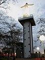Entardecer no Cristo Salvador de Sertãozinho. O entardecer visto no Parque do Cristo e em cima, no mirante é maravilhoso ^ A estátua do Cristo Salvador mede 56 metros no total, divididos entre 18 metr - panoramio.jpg