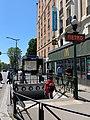 Entrée Station Métro Porte Montreuil Boulevard Davout - Paris XX (FR75) - 2021-06-01 - 1.jpg