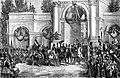 Entrée de Léopold Ier à Bruxelles le jour de son avènement le 21 juillet 1831.jpg