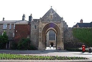 Thomas Erpingham - Erpingham Gate, Norwich.