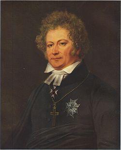 Esaias Tegnér målad av Johan Gustaf Sandberg, cirka 1826.
