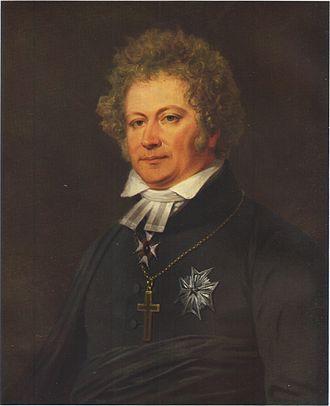 Esaias Tegnér - Esaias Tegnér as portrayed by Johan Gustaf Sandberg, around 1826.