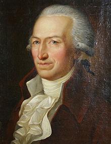 Johann Joachim Eschenburg, Gemälde von Friedrich Georg Weitsch, um 1793, Gleimhaus Halberstadt (Quelle: Wikimedia)