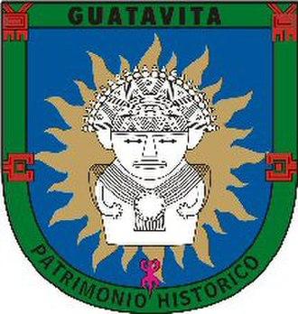 Guatavita - Image: Escudo guatativa