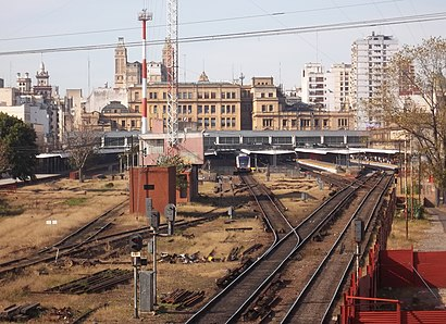 Cómo llegar a Estación Once en transporte público - Sobre el lugar