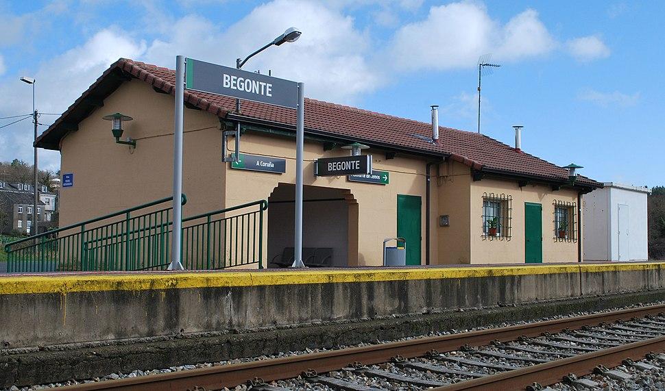 Estación de Begonte Lugo