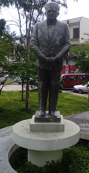 Humberto de Alencar Castelo Branco - Castelo Branco statue in Barroso, southeastern Brazil
