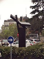 Estatua en la plaza Presidente Cárdenas