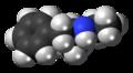 Etilamfetamine molecule spacefill.png