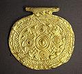 Etruscan pendant with swastika symbols Bolsena Italy 700 BCE to 650 BCE.jpg