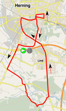 Parcours in en rond Herning