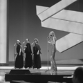 Eurovision Song Contest 1976 rehearsals - Norway - Anne-Karine Strøm 4.png