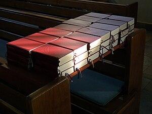 Evangelisches Gesangbuch - Protestant hymnals