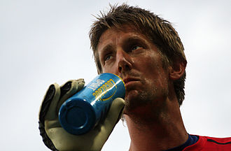 Edwin van der Sar - Van der Sar at Euro 2008.