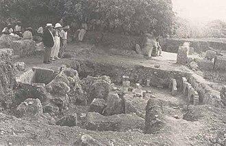 Għajn Tuffieħa Roman Baths - Excavations in the 1930s