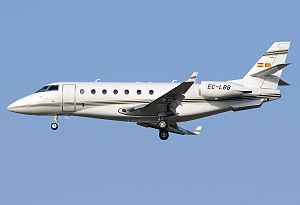 Executive Airlines Gulfstream Aerospace G200 JBM.jpg