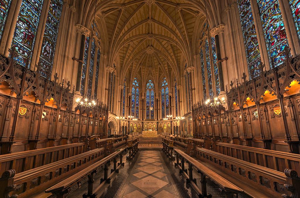 Chapelle de l'Exeter College d'Oxford. Photo by DAVID ILIFF. License: CC-BY-SA 3.0