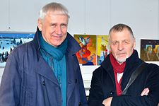 Exhibition LABIRINT II in Palace of Art 14.04.2015 Ivanov Kostiuchenko.JPG