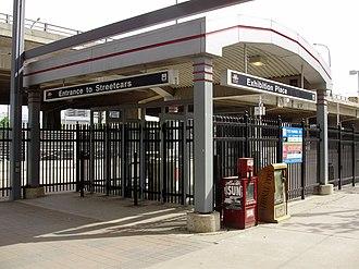 Exhibition Loop - Image: Exhibition Loop Entrance TTC