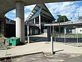 Exit ramp at Ashmont station from Beale Street, August 2016.jpg