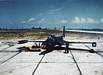 F2H-2 Banshee at Naval Air Station Patuxent River, circa in the early 1950s (NH 101813-KN).jpg