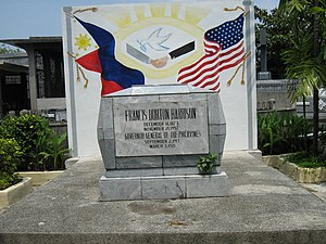 Francis Burton Harrison - Gravesite of F.B. Harrison at the Manila North Cemetery.