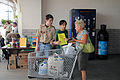FEMA - 38596 - Boy Scouts hand out FEMA Disaster Information.jpg