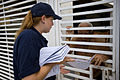 FEMA - 39116 - FEMA Community Relations representative speaks with a resident in Puerto Rico.jpg
