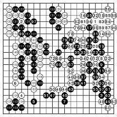 Fan Hui vs AlphaGo. 3a ronda
