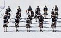 FIL 2012 - Arrivée de la grande parade des nations celtes - GPS Pipe band.jpg