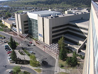 Foothills Medical Centre - Special Services Building as seen from Foothills Hospital