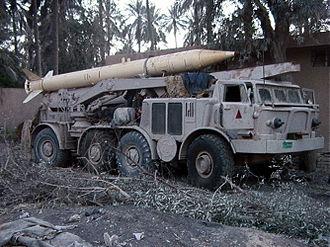 Republican Guard (Iraq) - An Iraqi Republican Guard FROG-7 captured by U.S. Marines.