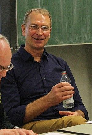 Matthias Behr - Matthias Behr at an interview in Tauberbischofsheim (2016)