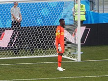 901de57ff Uzoho with Nigeria against Iceland at the 2018 FIFA World Cup