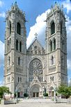 Facade of Sacred Heart Cathedral, Newark.jpg
